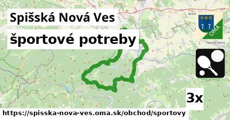 ilustračný obrázok k športové potreby, Spišská Nová Ves