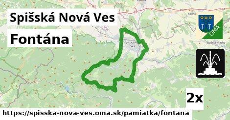 ilustračný obrázok k Fontána, Spišská Nová Ves