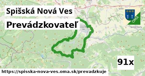prevádzkovateľ v Spišská Nová Ves