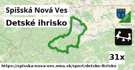 detské ihrisko v Spišská Nová Ves