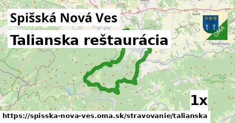 Talianska reštaurácia, Spišská Nová Ves