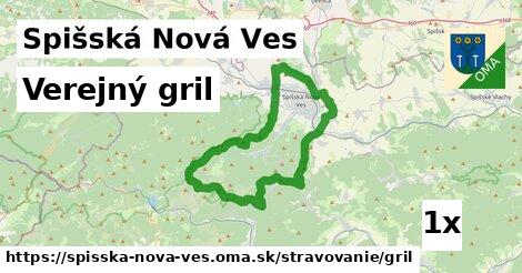 verejný gril v Spišská Nová Ves