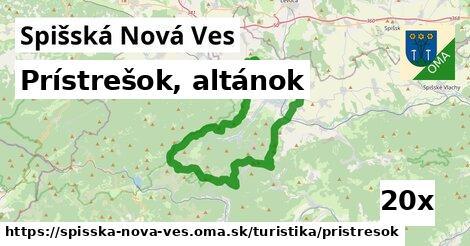 prístrešok, altánok v Spišská Nová Ves