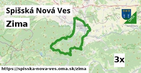 zima v Spišská Nová Ves