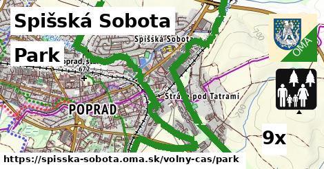 park v Spišská Sobota