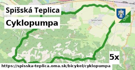 cyklopumpa v Spišská Teplica