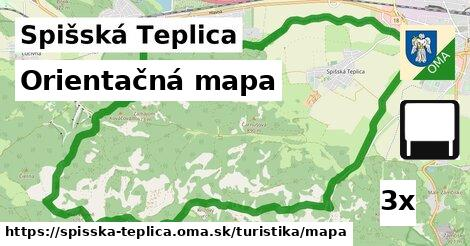Orientačná mapa, Spišská Teplica