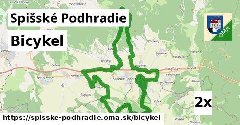 bicykel v Spišské Podhradie