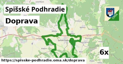 doprava v Spišské Podhradie