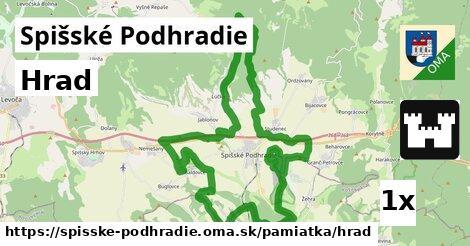 ilustračný obrázok k Hrad, Spišské Podhradie