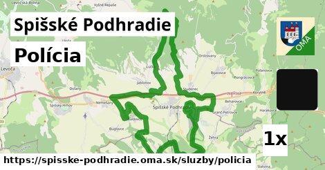 ilustračný obrázok k Polícia, Spišské Podhradie
