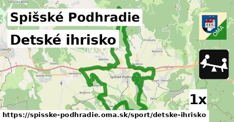 ilustračný obrázok k Detské ihrisko, Spišské Podhradie