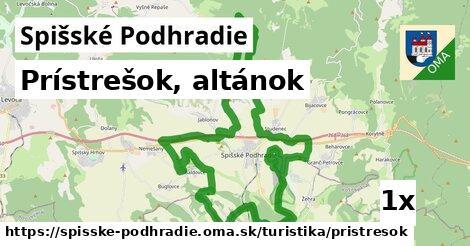 ilustračný obrázok k Prístrešok, altánok, Spišské Podhradie