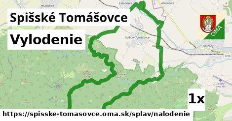 vylodenie v Spišské Tomášovce