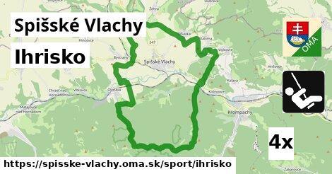 ihrisko v Spišské Vlachy