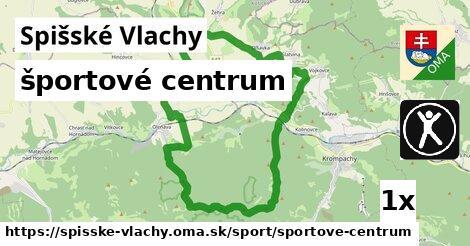 športové centrum v Spišské Vlachy
