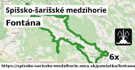 ilustračný obrázok k Fontána, Spišsko-šarišské medzihorie