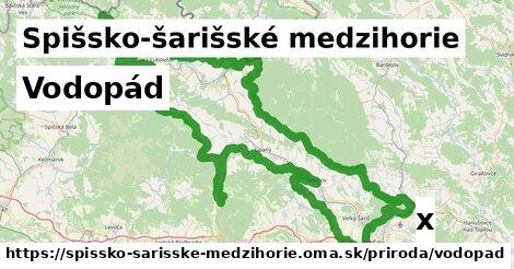 ilustračný obrázok k Vodopád, Spišsko-šarišské medzihorie