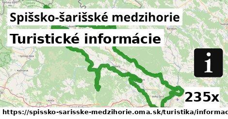 ilustračný obrázok k Turistické informácie, Spišsko-šarišské medzihorie