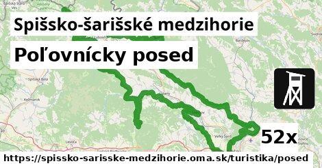 ilustračný obrázok k Poľovnícky posed, Spišsko-šarišské medzihorie