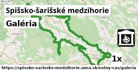 ilustračný obrázok k Galéria, Spišsko-šarišské medzihorie