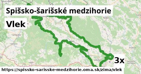 ilustračný obrázok k Vlek, Spišsko-šarišské medzihorie