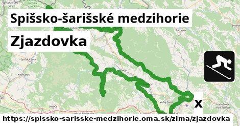 ilustračný obrázok k Zjazdovka, Spišsko-šarišské medzihorie