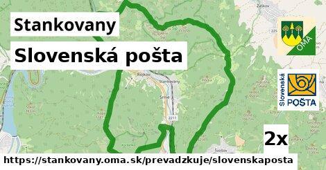 ilustračný obrázok k Slovenská pošta, Stankovany