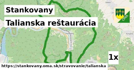 talianska reštaurácia v Stankovany