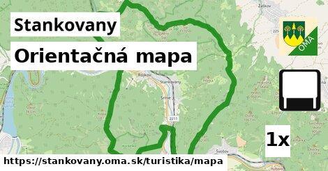 ilustračný obrázok k Orientačná mapa, Stankovany