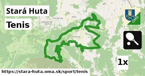 tenis v Stará Huta