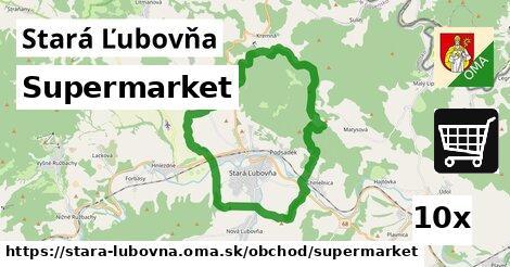 Supermarket, Stará Ľubovňa