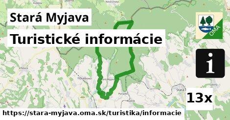 ilustračný obrázok k Turistické informácie, Stará Myjava