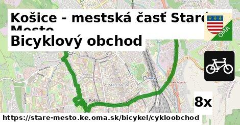 ilustračný obrázok k Bicyklový obchod, Košice - mestská časť Staré Mesto