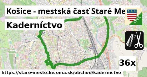 kaderníctvo v Košice - mestská časť Staré Mesto