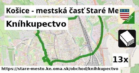 kníhkupectvo v Košice - mestská časť Staré Mesto