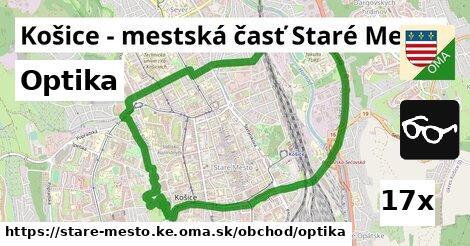 optika v Košice - mestská časť Staré Mesto