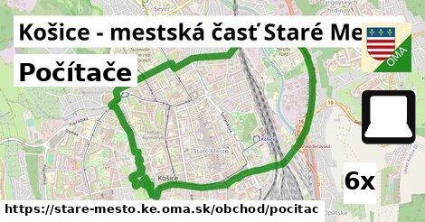 počítače v Košice - mestská časť Staré Mesto