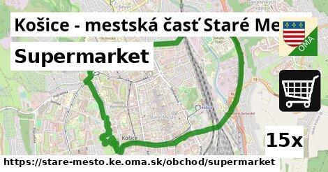 ilustračný obrázok k Supermarket, Košice - mestská časť Staré Mesto
