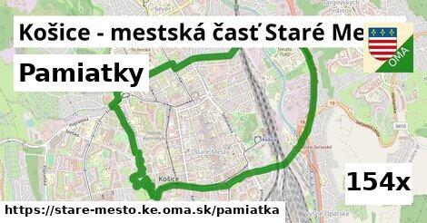 pamiatky v Košice - mestská časť Staré Mesto