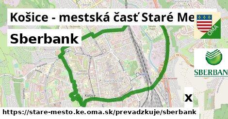 ilustračný obrázok k Sberbank, Košice - mestská časť Staré Mesto