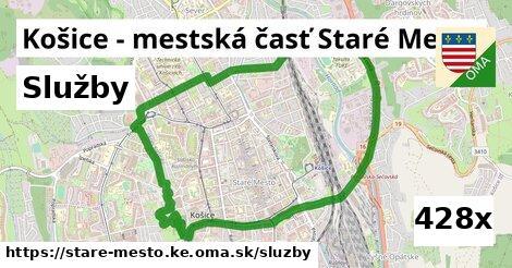 služby v Košice - mestská časť Staré Mesto