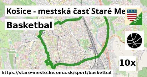 basketbal v Košice - mestská časť Staré Mesto