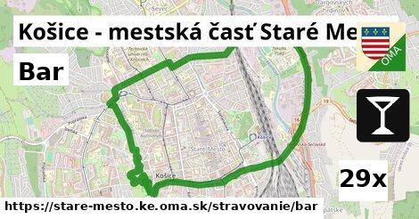 bar v Košice - mestská časť Staré Mesto