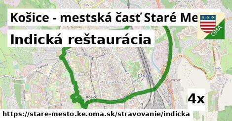 indická reštaurácia v Košice - mestská časť Staré Mesto