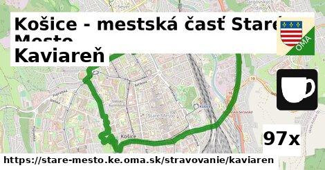 kaviareň v Košice - mestská časť Staré Mesto