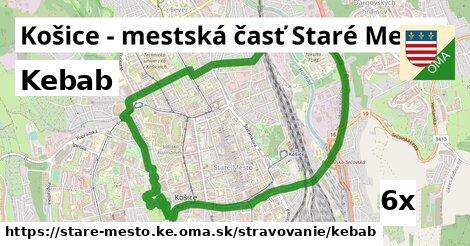 ilustračný obrázok k Kebab, Košice - mestská časť Staré Mesto
