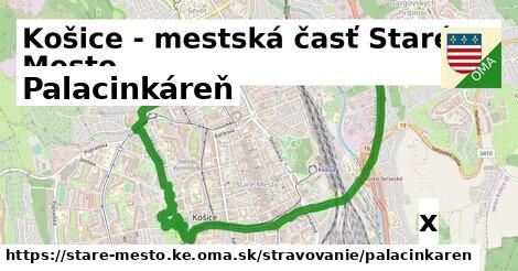 palacinkáreň v Košice - mestská časť Staré Mesto
