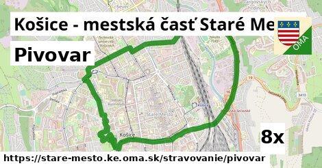 ilustračný obrázok k Pivovar, Košice - mestská časť Staré Mesto