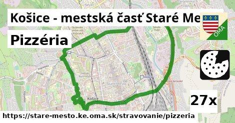pizzéria v Košice - mestská časť Staré Mesto